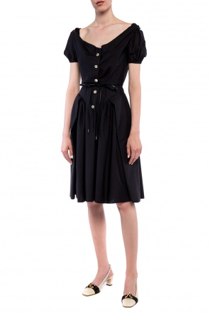 Dress with decorative sleeves od Vivienne Westwood