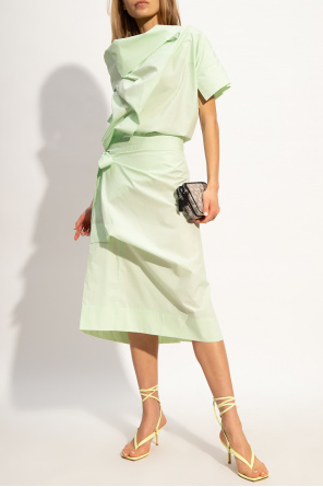 Asymmetrical dress od Vivienne Westwood