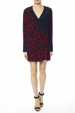 Dress with pleated bottom od Diane Von Furstenberg