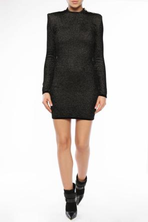 Rollneck dress od Balmain