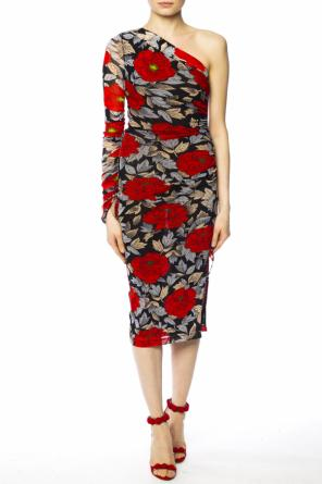 Printed asymmetrical dress od Diane Von Furstenberg
