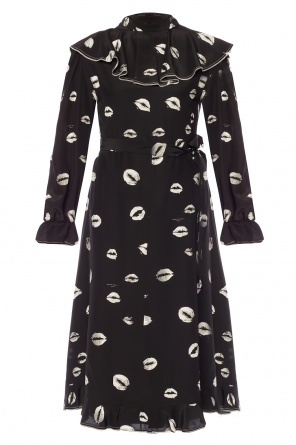 Dress with motif of lips od Sonia Rykiel