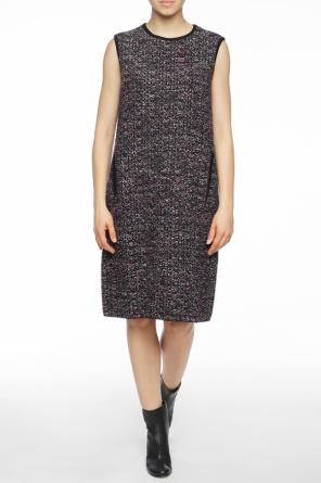 Tweed sleeveless dress od Salvatore Ferragamo