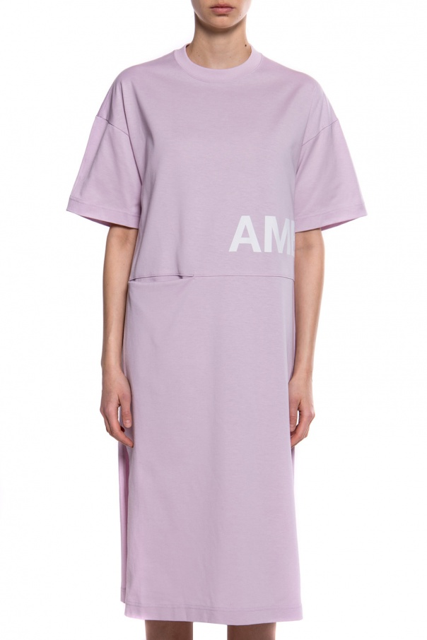 Ambush Sukienka typu 'oversize' z logo msnuwdL8