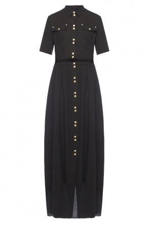 Decorative closure dress od Balmain