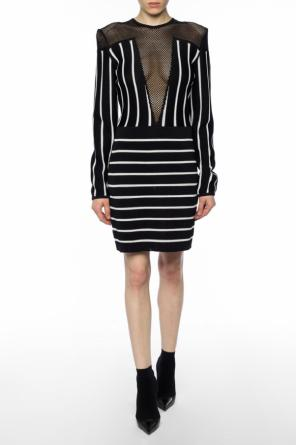 Striped dress od Balmain