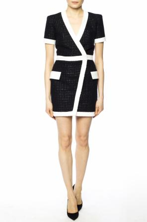 Lurex dress od Balmain