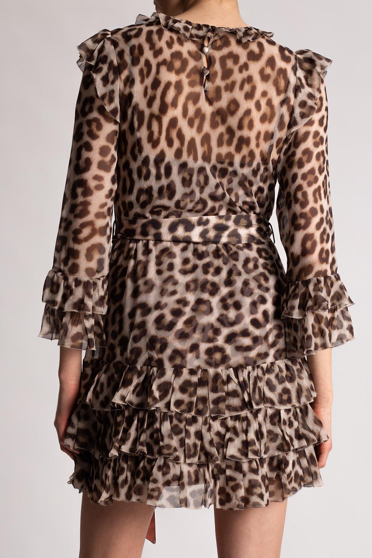 Zimmermann Animal motif dress