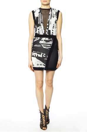 Embroidered dress od Balmain
