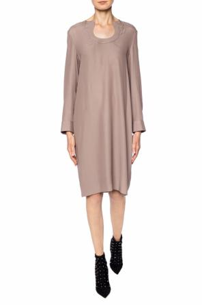 Cut-out silk dress od Salvatore Ferragamo