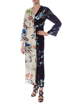 Floral-printed dress od Etro