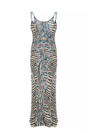 Silk dress on straps od Etro