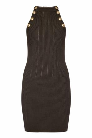 Sleeveless dress od Balmain