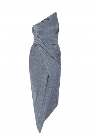 Asymmetrical dress with a cut-out od Vivienne Westwood