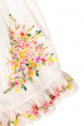 Zimmermann Kids Dress with floral motif