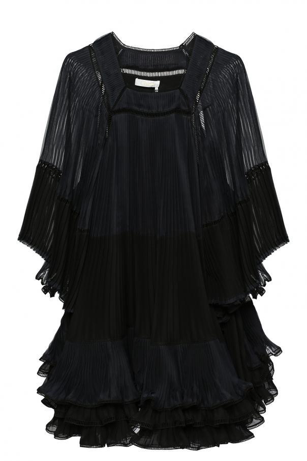 df4f3822c355 Pleated dress with ruffles Chloe - Vitkac shop online