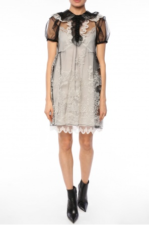 Embroidered sheer dress od Chloe