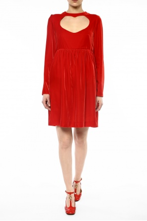 Heart cut-out dress od Chloe