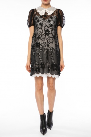 Star-appliqued dress od Chloe