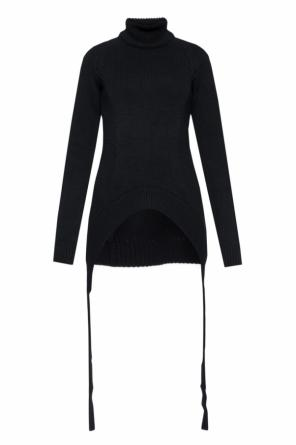 Sweater with decorative slit od Givenchy