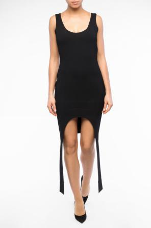 Asymmetrical sleeveless dress od Givenchy