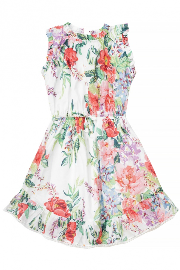 Zimmermann Kids Floral print dress