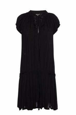 Dress with decorative tie neck od Ann Demeulemeester