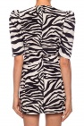The Attico Patterned dress