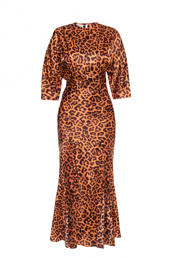 The Attico Leopard print dress