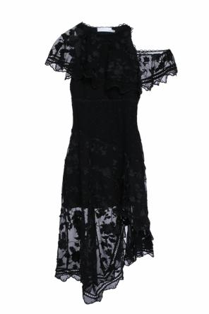 Embroidered asymmetric dress od Zimmermann