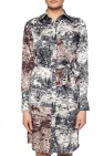 Patterned dress with tie fastening od Victoria Victoria Beckham