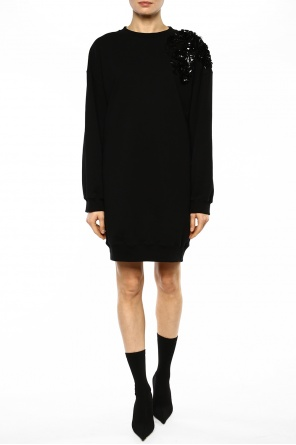 Appliqued dress od MSGM
