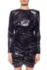 MSGM Sukienka ze wzorem w cętki
