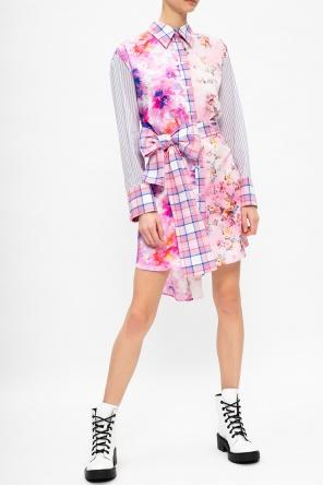 衬衫款式连衣裙 od MSGM