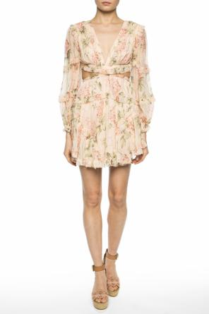 Cut-out silk dress od Zimmermann