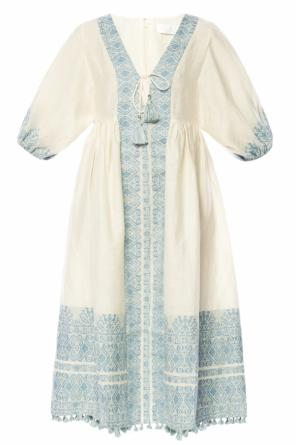 V-neck dress od Zimmermann