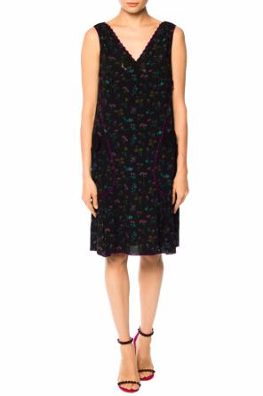 Floral-printed dress od Coach