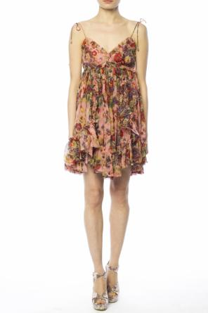 Short patterned dress od Zimmermann