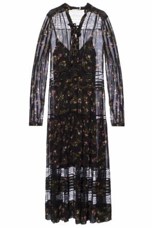 Floral motif dress od Zimmermann