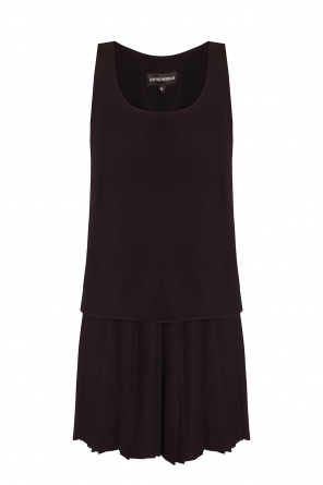 Pleated dress od Emporio Armani