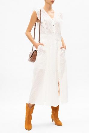 Sleeveless openwork dress od Coach