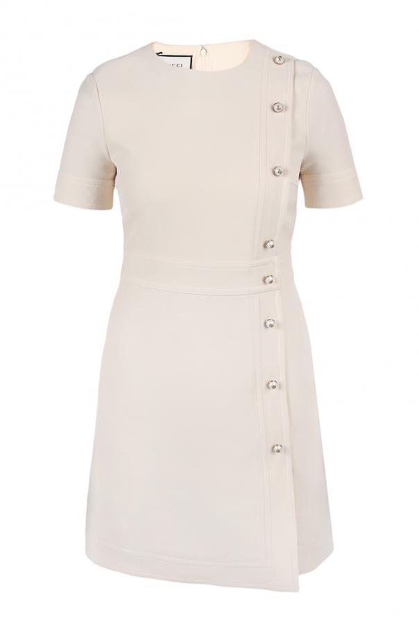 0240ed8099f Pearl button dress Gucci - Vitkac shop online