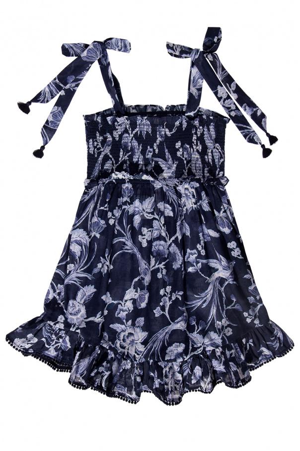 Zimmermann Kids Floral-motif dress