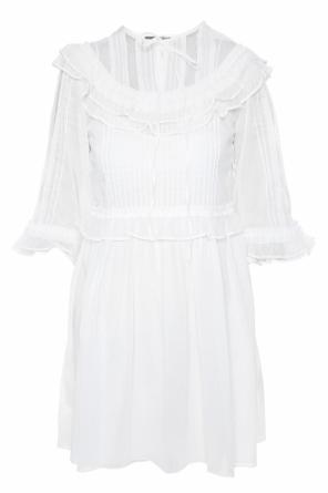 Dress with lace inserts od McQ Alexander McQueen