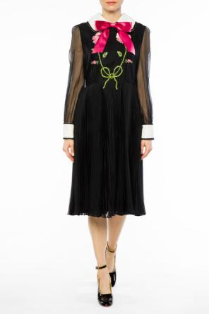 Appliqued dress od Gucci
