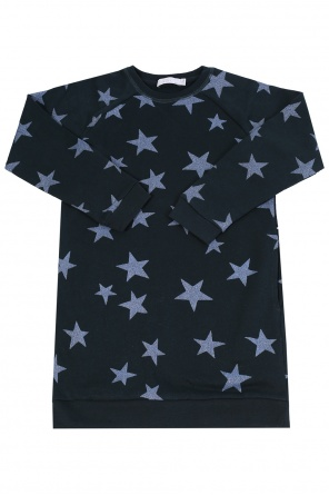 Star-printed dress od Stella McCartney Kids