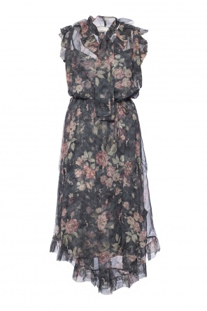 Dress with a floral motif od Zimmermann