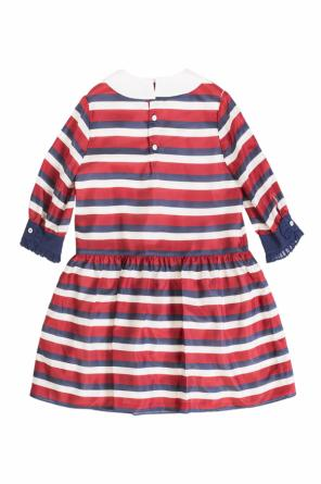 Striped flared dress od Gucci Kids