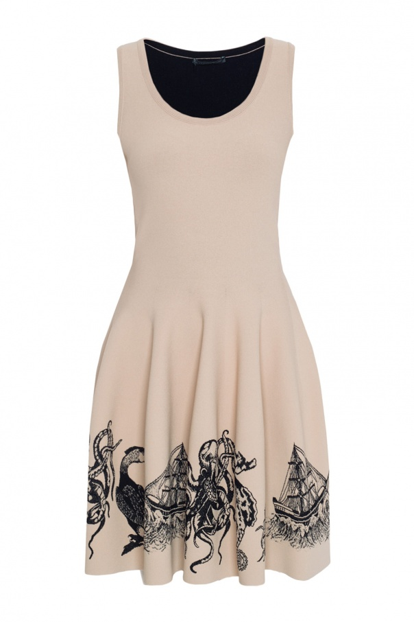 57da9c9a47cc79 Sleeveless dress Alexander McQueen - Vitkac shop online
