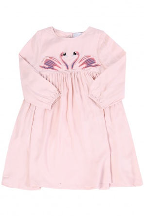 Embroidered flared dress od Stella McCartney Kids
